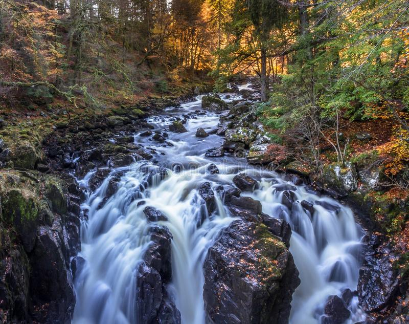 Time Lapse Landscape Photo of River stock images