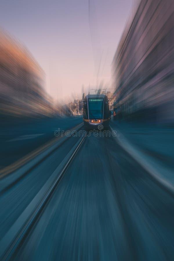 Time Lapse Photo Of Black Vehicle royalty free stock photo