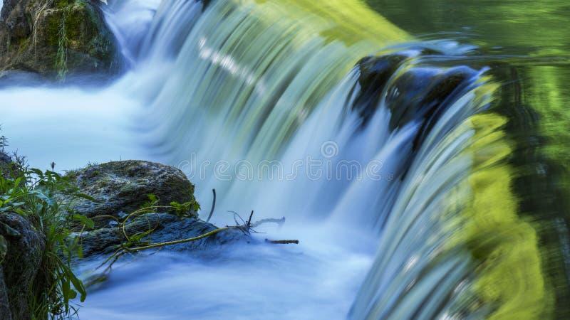 Time-lapse Photo of Waterfalls stock photos