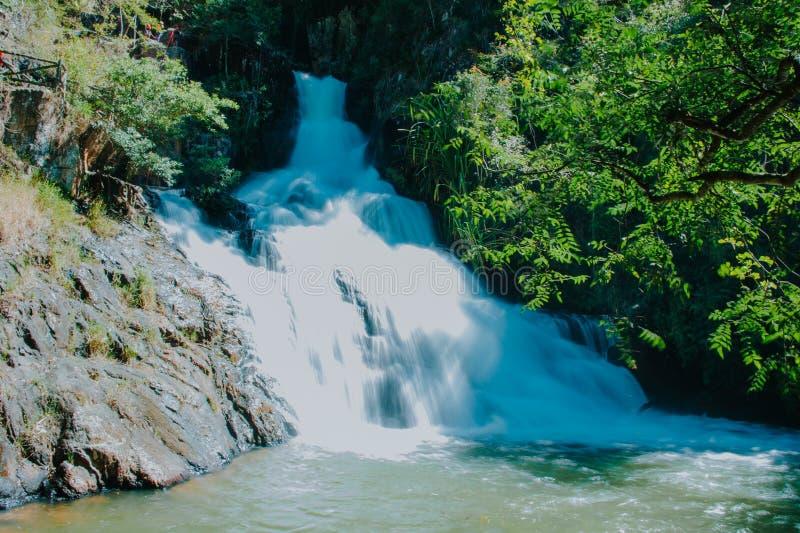 Time Lapse Photo of Waterfalls royalty free stock photos