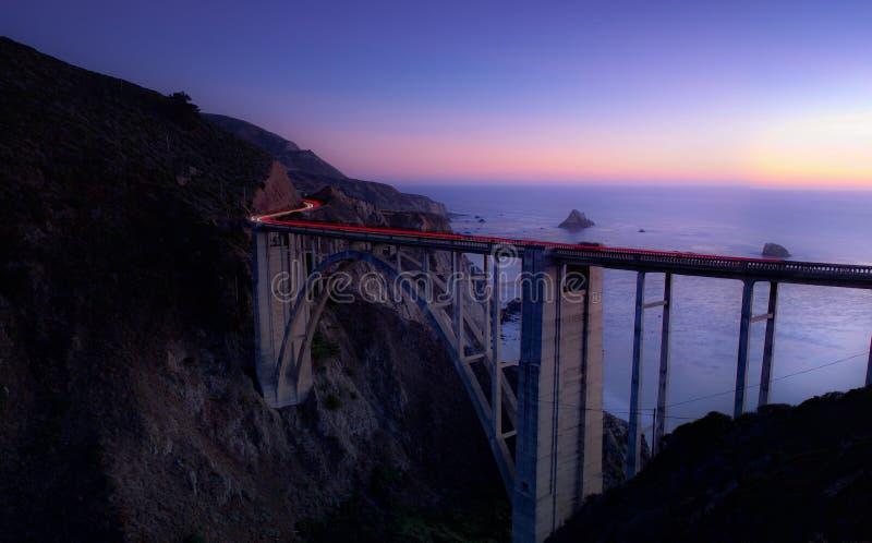 Time Lapse Photography Of Cars Running On Bridge Near Ocean Free Public Domain Cc0 Image