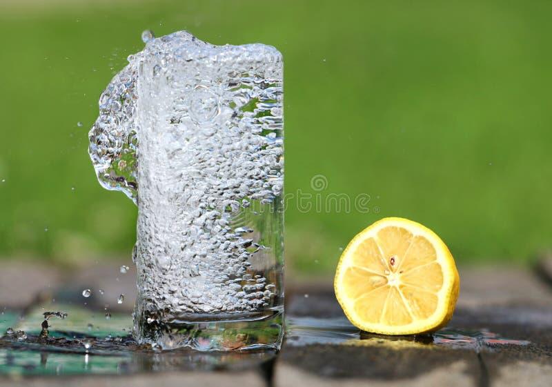 Time Lapse Photography Of Water Bobbling Beside Lemon Fruit Free Public Domain Cc0 Image