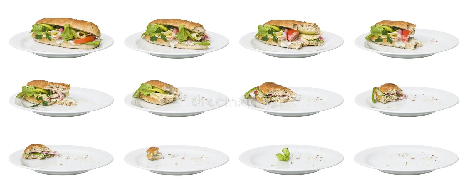 Download Time Lapse - Sandwich Royalty Free Stock Photo - Image: 14694885