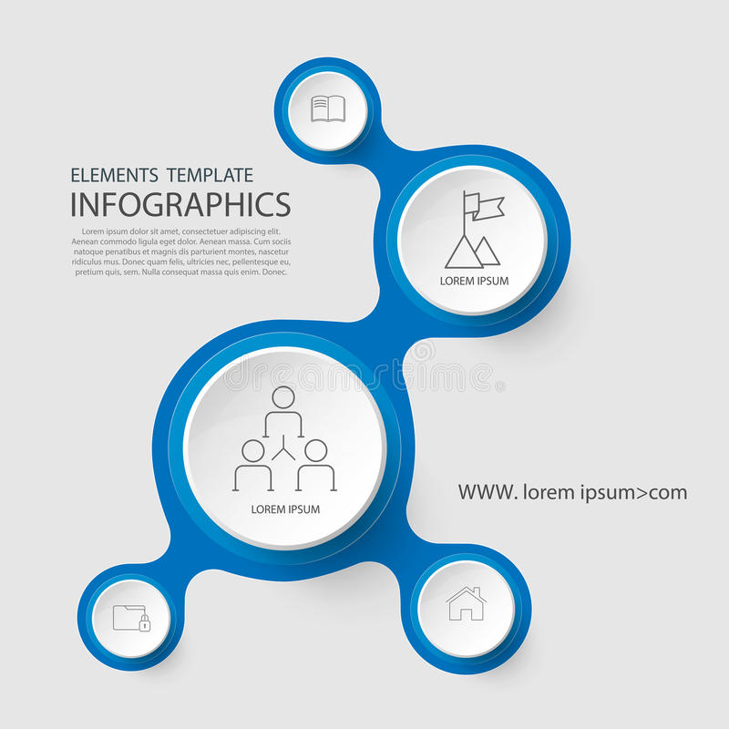 Free Time Line Infographic And Icons Design Template. Royalty Free Stock Photos - 90172238