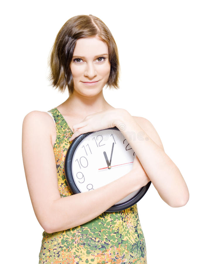 Download Time For Love And Romance stock image. Image of female - 24639981