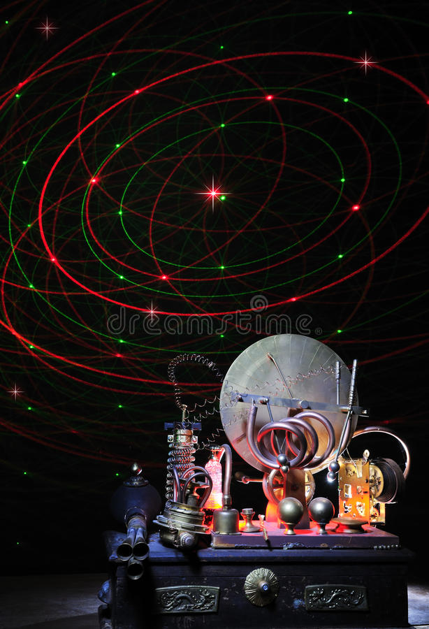 Download Time Machine stock image. Image of science, imagination - 20079875