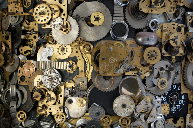 Time machine background stock images