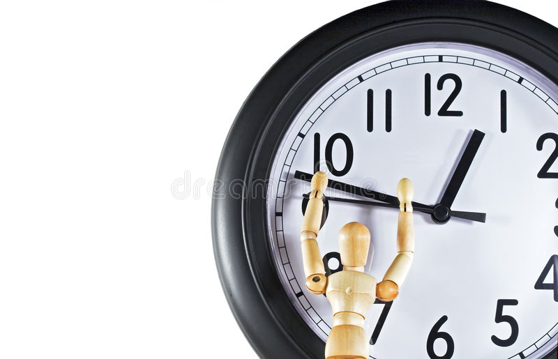 Time Management 1 stock photography