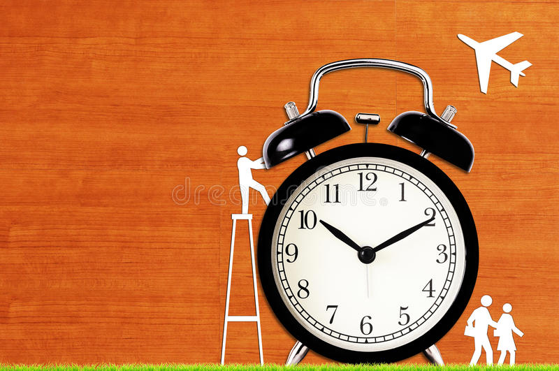 Time Management Concept. Business planning stock image