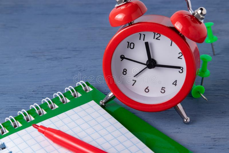 Time management Deadline. Time counting Graphic work. Deadlines for the work. Catch up to a certain time. Time management Deadline Time counting Graphic work royalty free stock photos