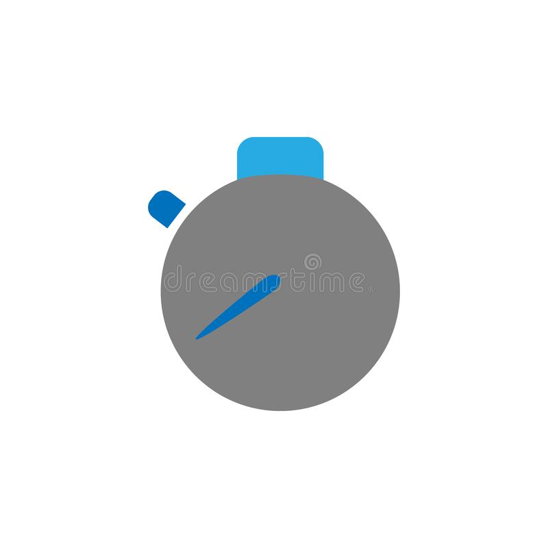 Time management icon. Element of user interface icon for mobile concept and web apps. Detailed Time management icon can be used. For web and mobile on white vector illustration