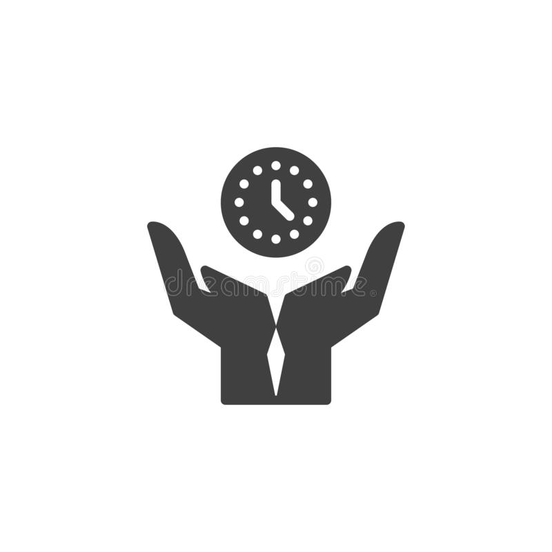 Time management vector icon vector illustration