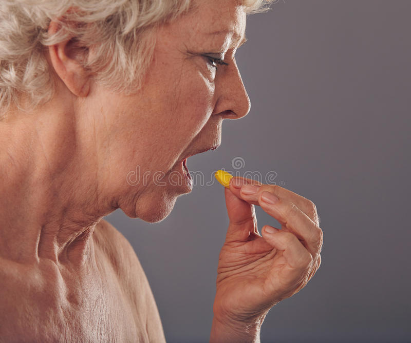 Time for Medication royalty free stock photography