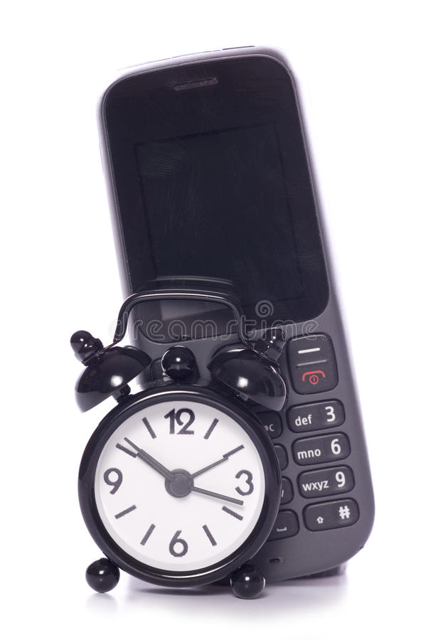 Time for mobile phone upgrade stock photos