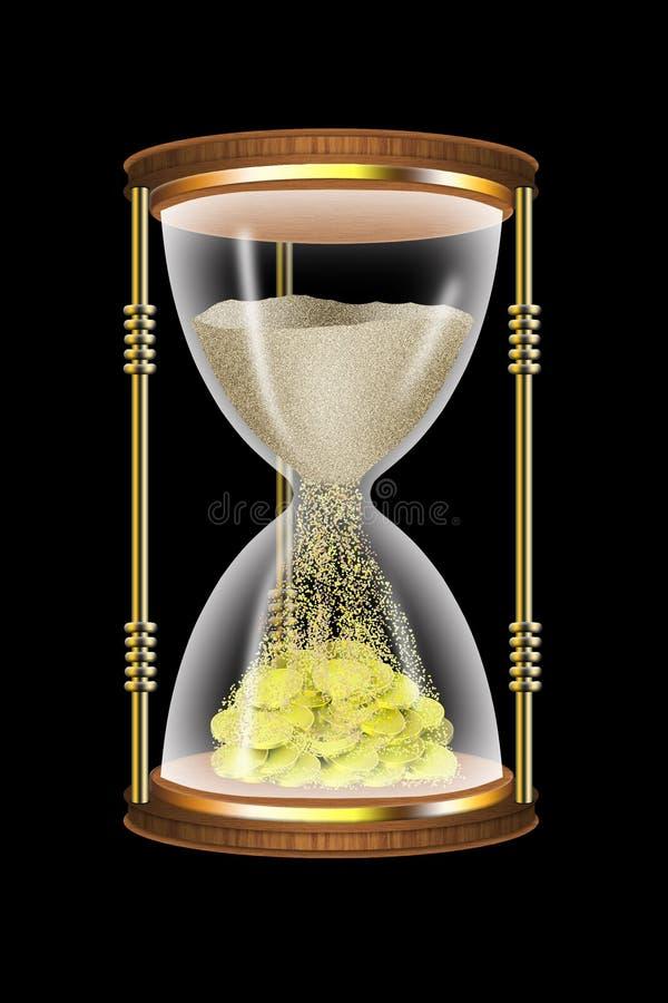 Download Time of money stock illustration. Illustration of sandy - 10671454