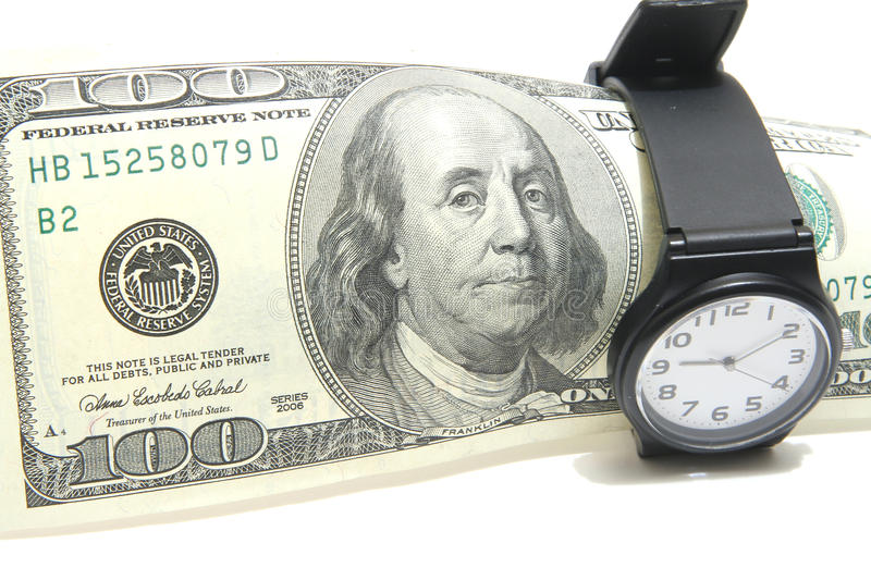 Download Time Is Money Stock Photo - Image: 10691590