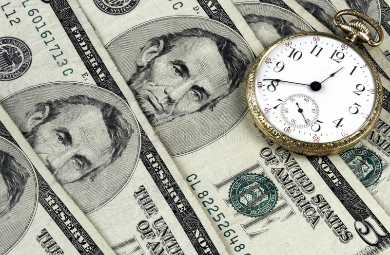 Download Time And Money stock photo. Image of dollars, watch, payment - 108006