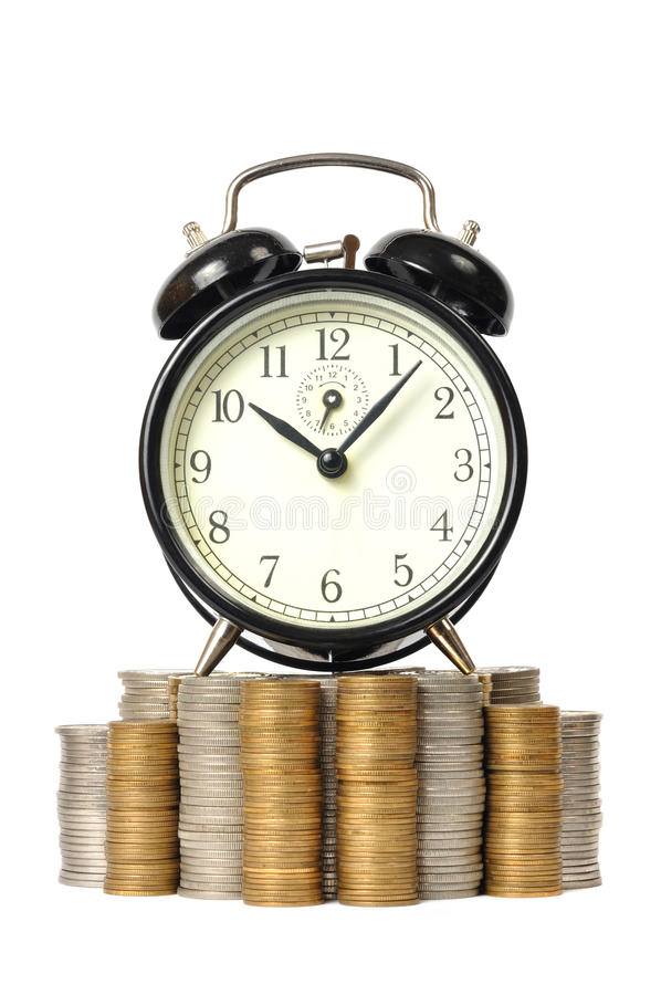 Download Time is Money stock image. Image of currency, white, background - 13279915