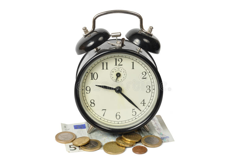 Download Time is Money stock photo. Image of euro, background - 13334808