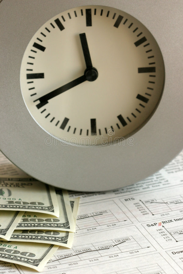 Download Time is money stock image. Image of clock, monetary, dollar - 190139