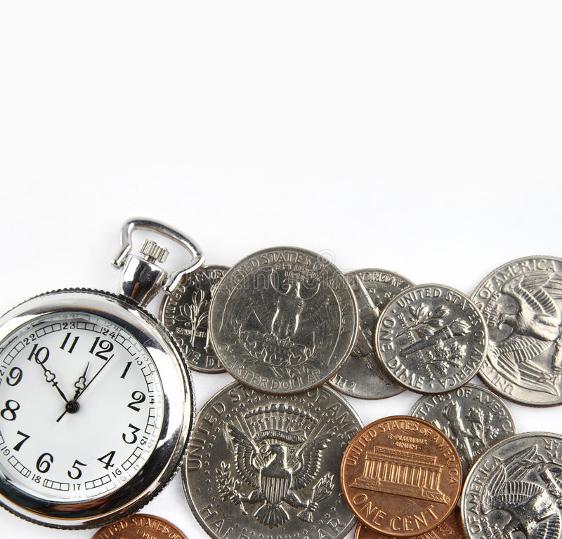 Download Time is money stock image. Image of closeup, cents, banking - 24052651