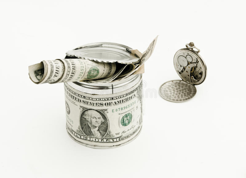 Time Is Money. Royalty Free Stock Image