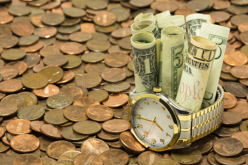 Download Time Is Money stock photo. Image of hour, finance, hand - 26018720