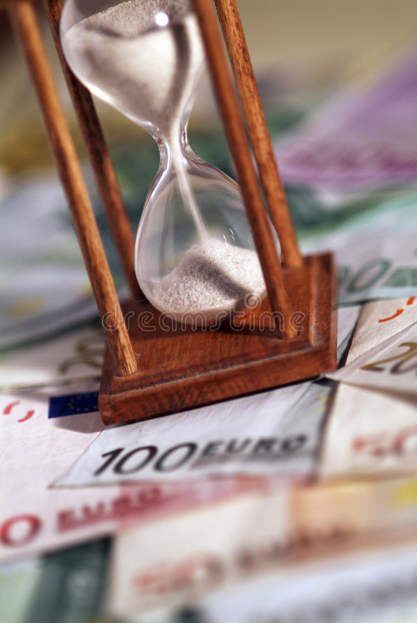 Download Time is money stock photo. Image of sand, savings, dollar - 28158952