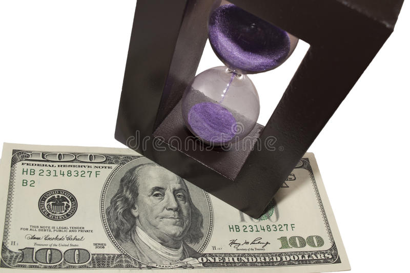 Download Time is money 3 stock image. Image of finance, work, hourglass - 22998703