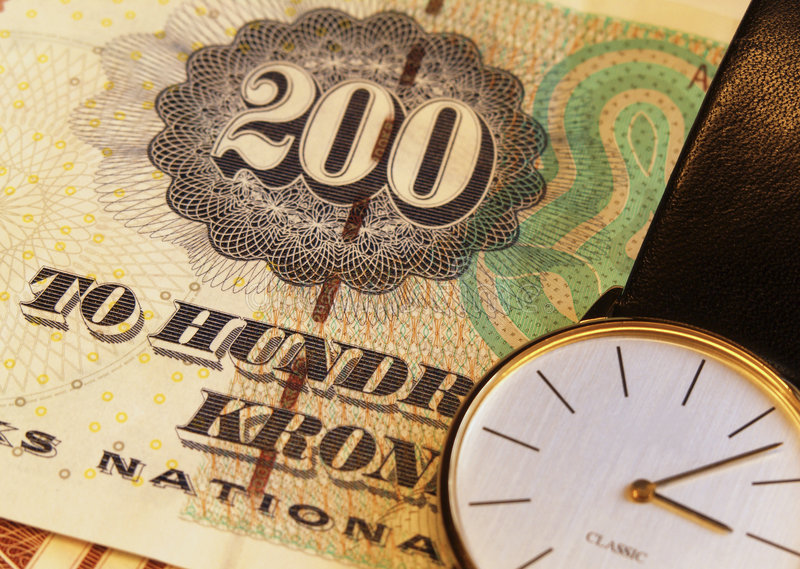Time and money stock photos