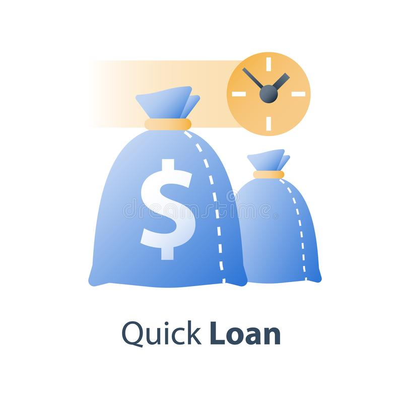 Quick Loan, Easy Money, Financial Concept, Super Prize And