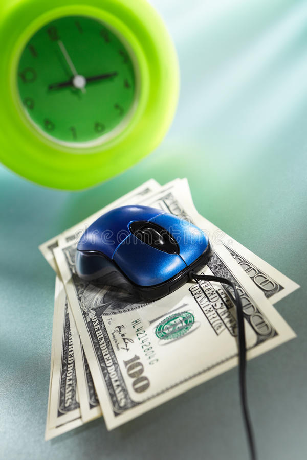 Download Time is money concept stock photo. Image of idea, dollar - 18636986