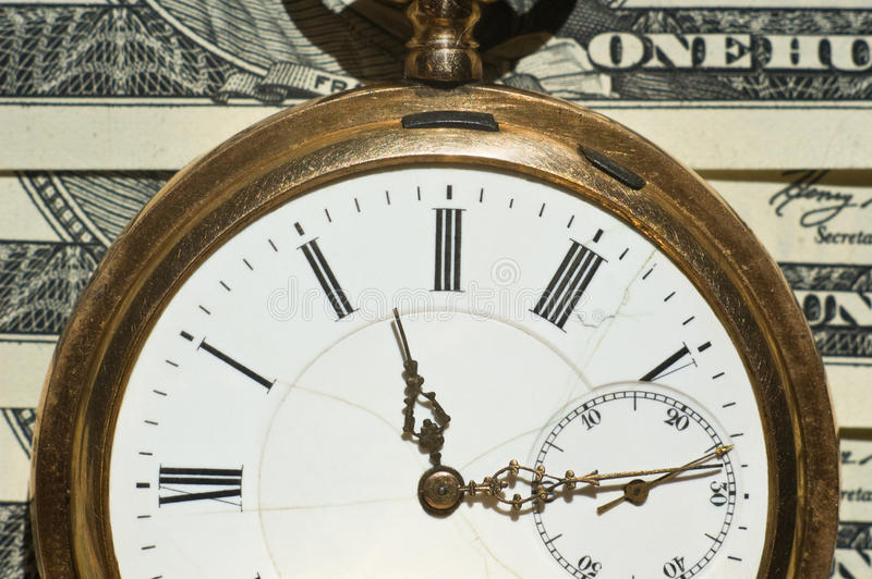 Time And Money Concept Image Stock Photography