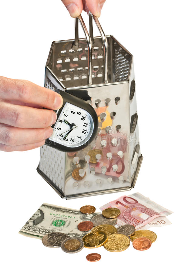 Download Time Is Money (concept Image) Stock Photo - Image of grater, concept: 14339492