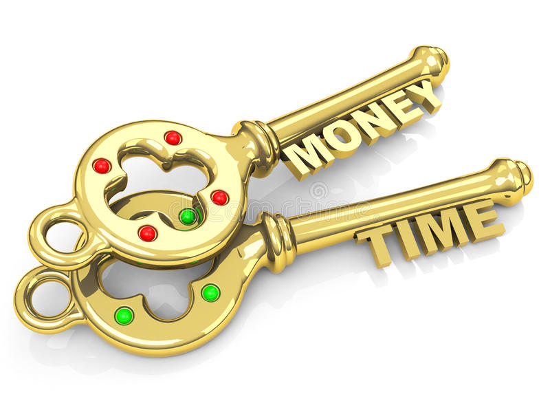 Download Time Is Money Stock Illustration - Image: 41760079