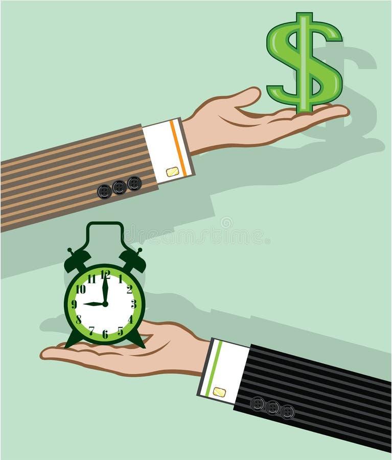 Time is Money. Illustration clip-art vector eps stock illustration