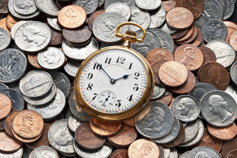 Time Money Management Retirement Business stock images