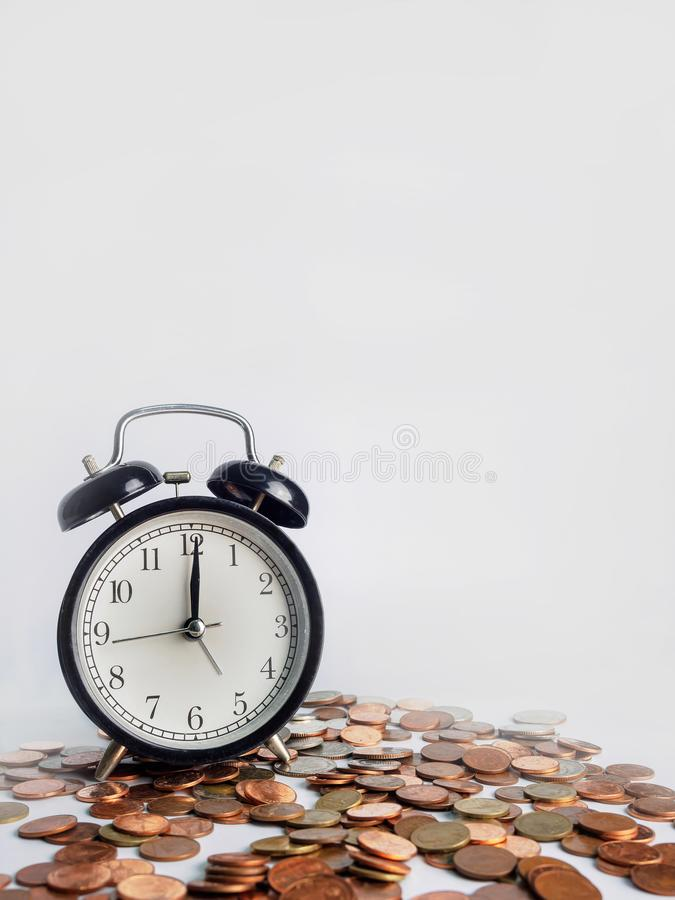 Time is Money, save time save money stock photo