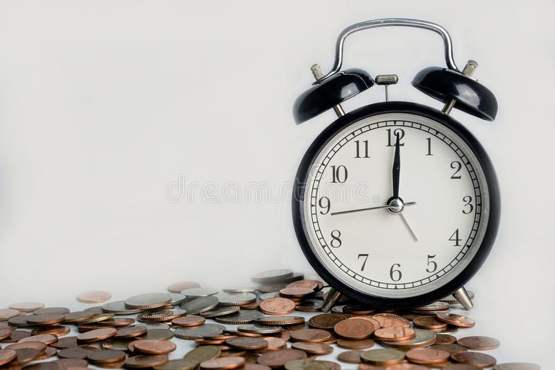 Time is Money, save time save money.  royalty free stock photography