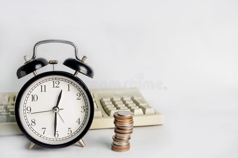 Time is Money, save time save money.  royalty free stock images