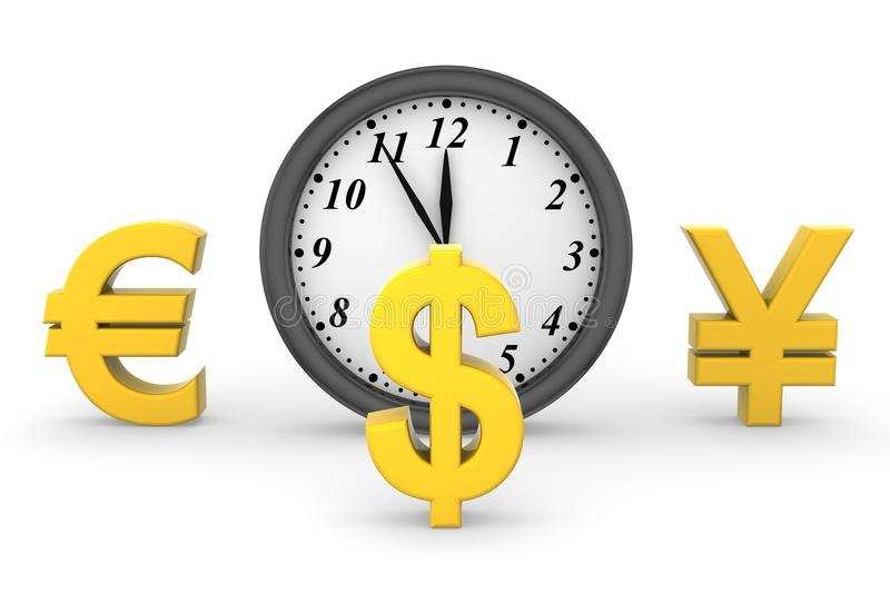 Download Time and Money stock illustration. Illustration of business - 33585168