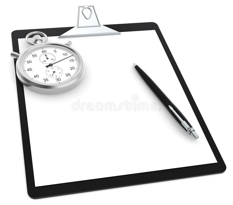 Download Time and motion study stock illustration. Image of improving - 22067085