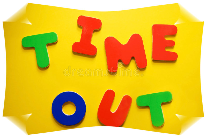 Download Time Out Sign stock image. Image of sign, colors, communicate - 4743397