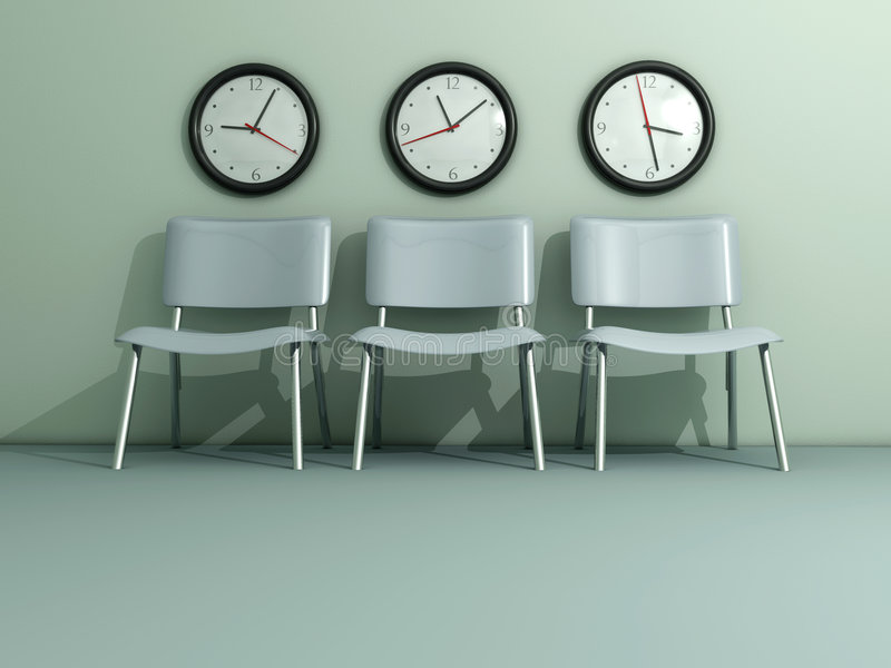 Time passing stock photo