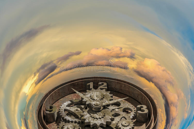 When time is passing stock photo