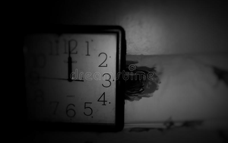 Time is very valuable stock image