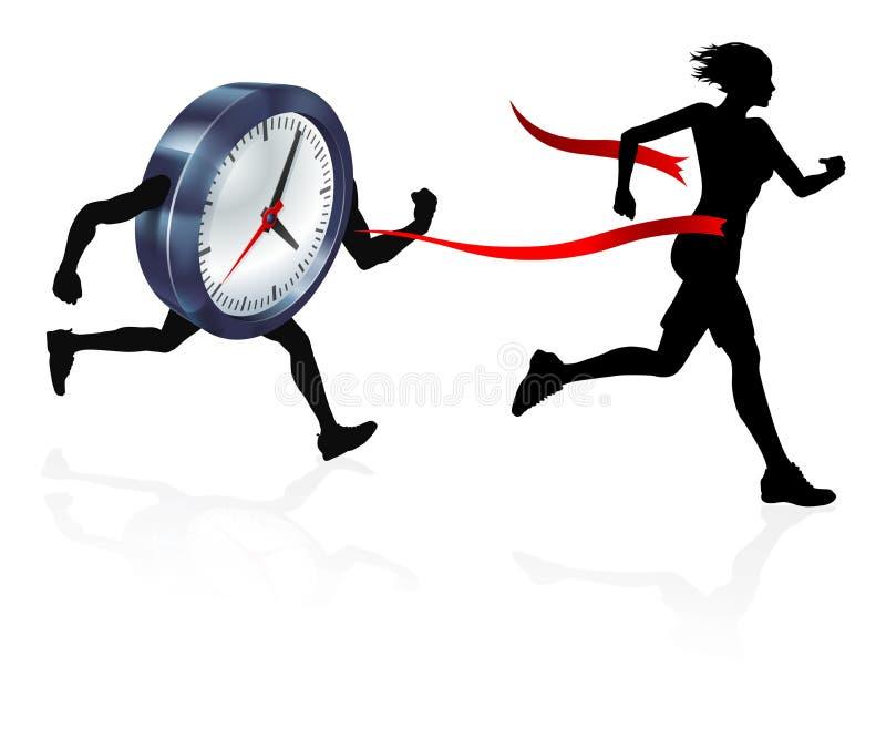Time Pressure Concept royalty free illustration