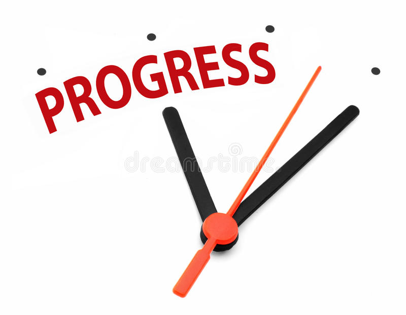 Time For Progress Royalty Free Stock Photo
