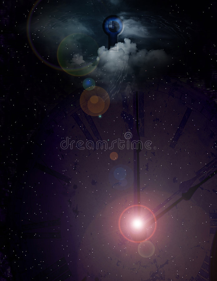 Download Time is relative stock illustration. Image of milkyway - 3013520