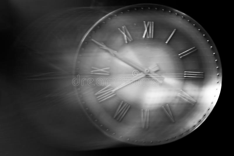 Time is running away stock image